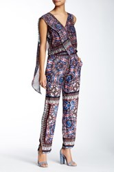Twelfth St. By Cynthia Vincent Gypsy Jumpsuit Multi