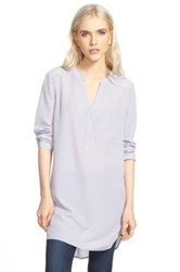 Trouve Trouve Long Sleeve Tunic Gray