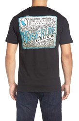 O'neill Men's Big And Tall Jack Pale Graphic T Shirt Black