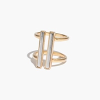 Madewell Doubletime Ring Vintage Gold