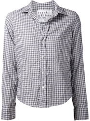 Frank And Eileen 'Barry'check Shirt Grey