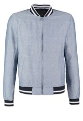 Pier One Summer Jacket Light Blue
