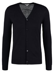 Reiss Walter Cardigan Navy Dark Blue
