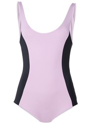 Onia 'Mollie' One Piece Pink And Purple
