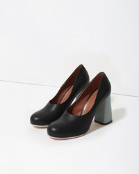 Marni Colorblock Pump Black