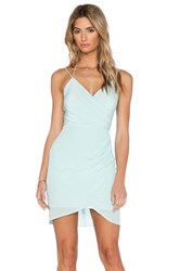 Bless'ed Are The Meek Rippling Dress Mint