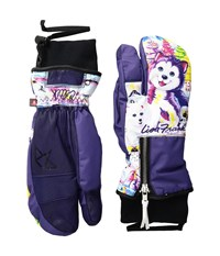 Celtek Hello Operator Trigger Lisa Frank Polar Bear Over Mits Gloves Multi