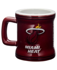 Boelter Brands Miami Heat 2 Oz. Mini Mug Shot Glass Team Color