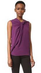 Carven Sleeveless Top Violet