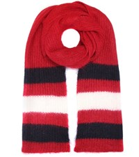 Undercover Mohair And Wool Blend Scarf Red