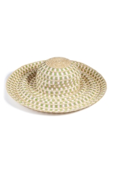 Missoni Mare Cotton Straw Sun Hat