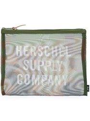 Herschel Supply Co. 'Network' Pouch Green