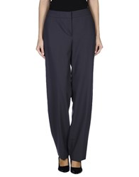 Armani Collezioni Trousers Casual Trousers Women Dark Brown