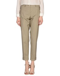 Les Copains Trousers Casual Trousers Women Grey