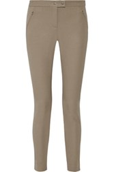 Theory Adalwen Stretch Twill Skinny Pants Taupe
