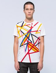 Iceberg Multi Color Lines S S T Shirt