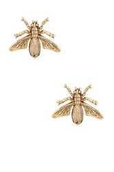 Yochi Design Fly Stud Earrings No Color