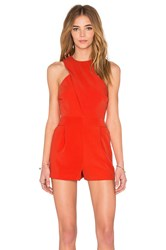 Finders Keepers Hurricane Playsuit Orange