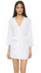 Honeydew Intimates All American Bride Robe White Something Blue