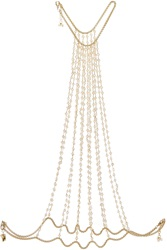 Rosantica Rosarietto Gold Tone Pearl Body Chain