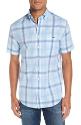 Vineyard Vines Men's 'Hamblin Tucker' Regular Fit Plaid Sport Shirt