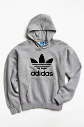 Adidas Adicolor Fashion Short Sleeve Hoodie Sweatshirt Grey