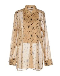 Dries Van Noten Shirts Shirts Women Ochre