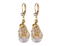 Betsey Johnson Crystal Drop Crystal Earring Gray