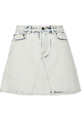Proenza Schouler Denim Mini Skirt Light Denim