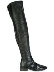 Marsell Over The Knee Boots Black