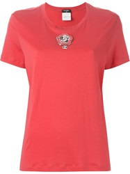 Chanel Vintage Beaded T Shirt Red