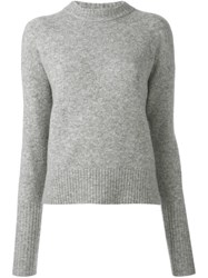Dkny Crew Neck Jumper Grey