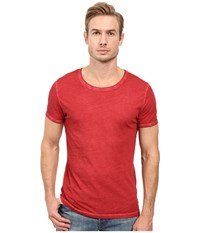 Boss Orange Tour T Shirt Red Men's T Shirt Burgundy