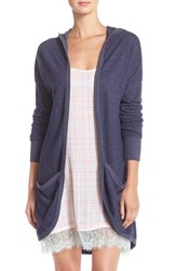 Women's Make Model 'Everyday' Hooded Open Front Cardigan
