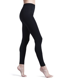 Wolford Velvet 100 Shaping Leggings Black Large