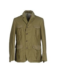 Montedoro Coats And Jackets Jackets Men Military Green