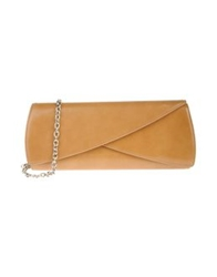 Rodo Medium Leather Bags Camel