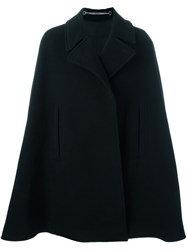 Givenchy Mid Length Cape Coat Black