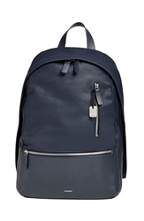 Skagen 'Kroyer 2.0' Coated Canvas Backpack Ink