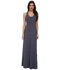 Alternative Apparel Racerback Maxi Dress Eco True Navy Women's Dress