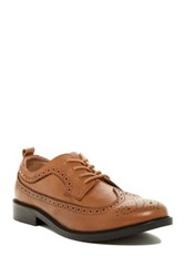French Connection Cajhol Longwing Derby Brown