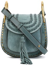 Chloe Chloe Mini 'Hudson' Crossbody Bag Blue