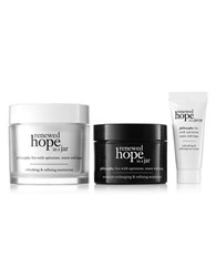 Philosophy Renewed Hope In A Jar Moisturizer Night And Eye Cream No Color