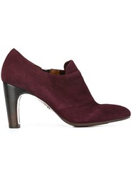 Chie Mihara 'Ferrian' Booties Pink And Purple