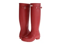 Hunter Original Tall Military Red Women's Rain Boots Tan