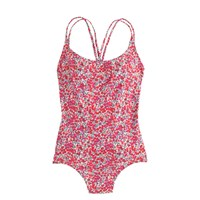 J.Crew Strappy One Piece Swimsuit In Liberty Art Fabrics Wiltshire Print Berry Multi