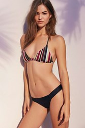 Out From Under Solid Wide Band Bikini Bottom Black