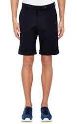 Aztech Mountain Cuffed Shorts Blue