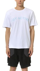 Pam Psy Active Tee White