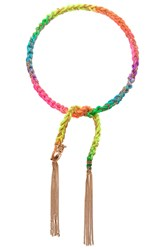 Carolina Bucci Gold Neon Super Lucky Charm Bracelet